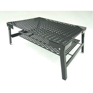 【送料無料】ネイチャートーンズ(NATURE TONES) The Rhombus Mesh Table M ブラック RM-M-B