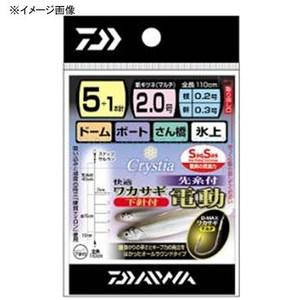 ダイワ(Daiwa) 快適ワカサギSS電動 M5+1本 ワカサギ仕掛け