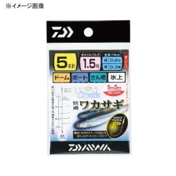 ダイワ(Daiwa) クリスティア 快適ワカサギ仕掛けSS マルチ 07114414 ワカサギ仕掛け