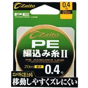 オーナー針 ザイト PE編み込み糸II 66093