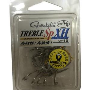 がまかつ(Gamakatsu) トレブルSP-XH 10P 特注 トリプルフック
