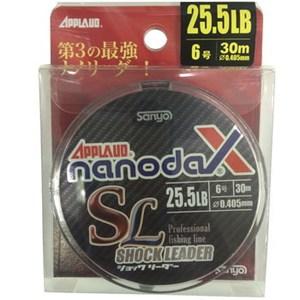 ナノダックスショックリーダー 30m 6号/25.5lb