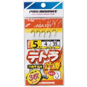 プロマリン(PRO MARINE) テトラ仕掛(3枚組) ASA101