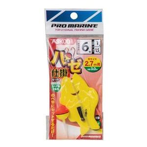 プロマリン(PRO MARINE) ASK001 ハゼ仕掛けセット