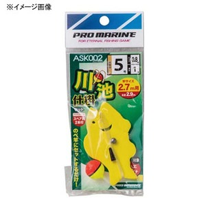 プロマリン(PRO MARINE) ASK002 川池仕掛けセット 4.5m竿用