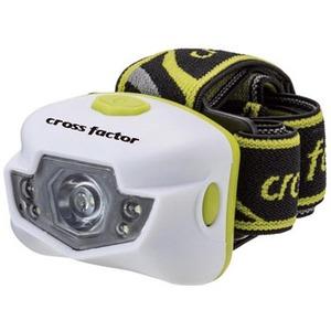 クロスファクター(CROSS FACTOR) 3W+3LEDヘッドランプ LEK012