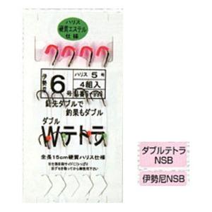マルフジ ダブルテトラ 鈎6/ハリス5 S-993