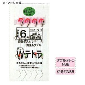 マルフジ ダブルテトラ 鈎8/ハリス6 S-993