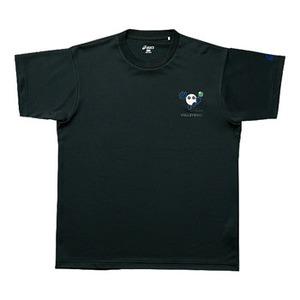 【送料無料】アシックス(asics) XW6598 バボチャンプリントTシャツHS L 9046(ブラックxJブルー)