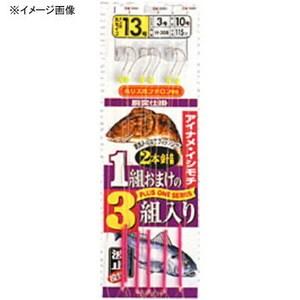 マルフジ アイナメ・イシモチ胴突 鈎15/ハリス4 H-008
