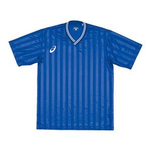 アシックス(asics) XS1138 ゲームシャツHS XO 45(ブルー)