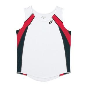 アシックス(asics) XT2036 W'Sランニングシャツ O 0190(ホワイトxブラック)