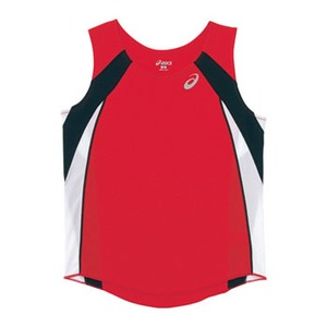 アシックス(asics) XT2036 W'Sランニングシャツ L 23(レッド)