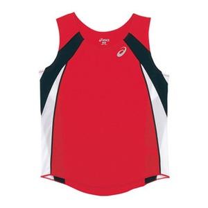 アシックス(asics) XT2036 W'Sランニングシャツ XO 23(レッド)