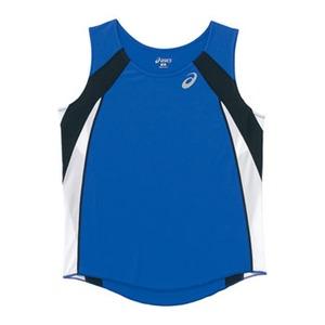 アシックス(asics) XT2036 W'Sランニングシャツ L 45(ブルー)
