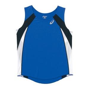 アシックス(asics) XT2036 W'Sランニングシャツ XO 45(ブルー)