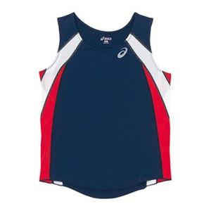 アシックス(asics) XT2036 W'Sランニングシャツ M 50(ネイビー)