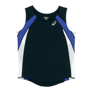 アシックス(asics) XT2036 W'Sランニングシャツ XO 90(ブラック)