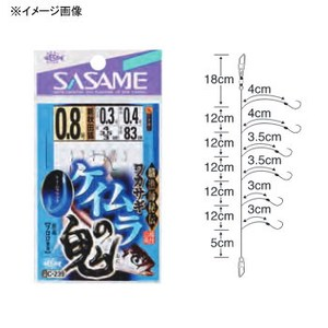 ささめ針(SASAME) ワカサギケイムラの鬼 2/ハリス0.3 C-239