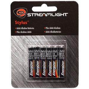 STREAMLIGHT(ストリームライト) スタイラス用予備電池(アルカリ6本) SL65030000