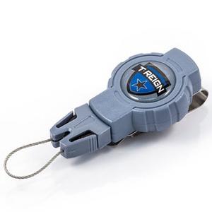 ティーレイン(T-REIGN) リトラクター クリップ SM ブルー TRG1120000