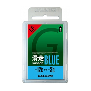 GALLIUM(ガリウム) 滑走 BLUE(50G) SW2124 -12度から-3度(全雪質) ワックス U-5529
