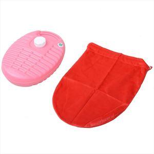 【送料無料】ONOE(尾上製作所) ポリ湯たんぽ カバー付 2.8L ピンク MY-492