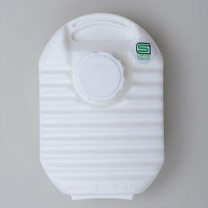 【送料無料】ONOE(尾上製作所) ミニ湯たんぽ カバー付 600ml ホワイト MY-445