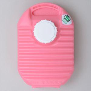 【送料無料】ONOE(尾上製作所) ミニ湯たんぽ カバー付 600ml ピンク MY-446