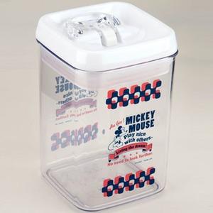 パール金属 ディズニー ストックコンテナ 角型 (レバー式) M/798ml ミッキーマウス モダン MA-1611