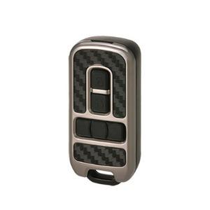 カーメイト(CAR MATE) キーカバー ホンダB カーボン調ブラックxブラックメッキ DZ239