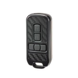 カーメイト(CAR MATE) キーカバー ホンダB カーボン調ブラック×ソリッドブラック) DZ245