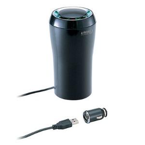 【送料無料】カーメイト(CAR MATE) PM2.5対応エアクリーナー ボトルタイプ 12V/USB電源 BLACK(ブラック) KS631