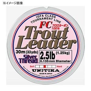 ユニチカ(UNITIKA) シルバースレッド トラウトリーダーFC 30m 06046 トラウト用ショックリーダー