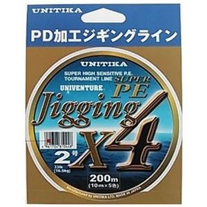 ユニチカ(UNITIKA) ユニベンチャー ジギングX4 200m 2号 10177