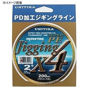 ユニチカ(UNITIKA) ユニベンチャー ジギングX4 200m 10178 ジギング用PEライン