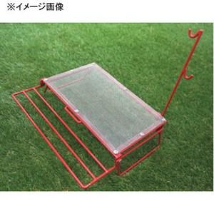 【送料無料】ネイチャートーンズ(NATURE TONES) ワイヤーメッシュソロテーブル レッド WT-R