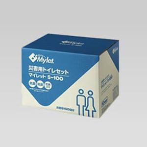 マイレット(Mylet) マイレット S-100 災害用トイレセット 100回分 携帯トイレ