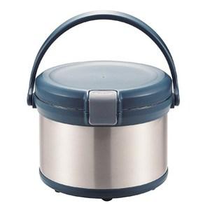 パール金属エコック 真空保温調理鍋(ワンハンドル) 3.2L 持ち手付き