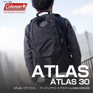 【送料無料】Coleman(コールマン) 【ATLAS/アトラス】アトラス30/ATLAS30 30L ブラック 2000021664