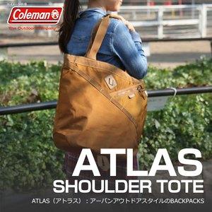 Coleman(コールマン) 【ATLAS/アトラス】アトラスショルダートート/ATLAS SHOULDER TOTE 21L タバコ 2000021738