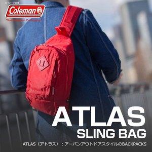 Coleman(コールマン) 【ATLAS/アトラス】アトラススリングバッグ/ATLAS SLING BAG 5L レッド 2000021741
