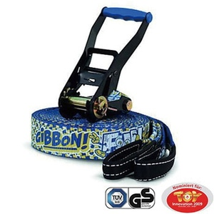 【送料無料】GIBBON(ギボン) FUN LINE X13 TREE PROSET ファンライン スラックライン 15m ブルー 130010