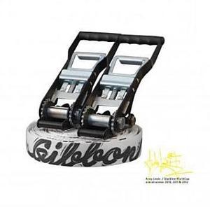 【送料無料】GIBBON(ギボン) ANDY LEWIS TRICKLINE 25m ホワイト 130024