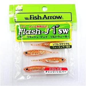 フィッシュアロー Flash-J(フラッシュ-ジェイ) ソルトウォーター 1インチ #103 オレンジ×シルバー