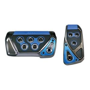 カーメイト(CAR MATE) RAZO GT SPEC ペダルセット AT-SS ブルー RP109BL