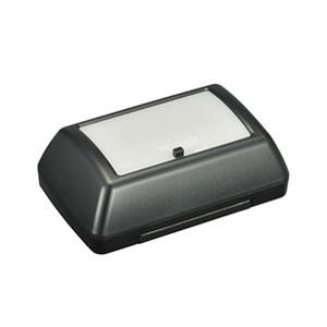 カーメイト(CAR MATE) どこでも使える LEDライト ワイド照射 電池式 ブラック CZ403