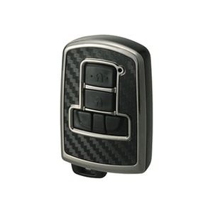 カーメイト(CAR MATE) リモコンキーカバー カーボン調 65x43x18mm ブラックメッキ DZ251