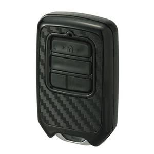 カーメイト(CAR MATE) リモコンキーカバー カーボン調 65×40×20mm ブラック DZ258