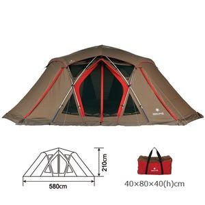 スノーピーク(snow peak) ソル Pro. TP-700 ファミリードームテント